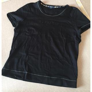 バーバリー(BURBERRY)のバーバリー ♡ 黒 トップス(Tシャツ(半袖/袖なし))