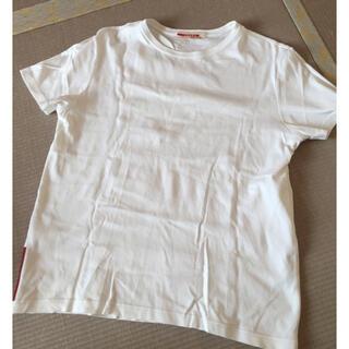 プラダ(PRADA)のPRADA ♡ 白 トップス(Tシャツ(半袖/袖なし))