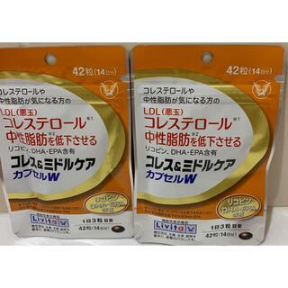 タイショウセイヤク(大正製薬)のコレス&ミドルケア 大正製薬(ダイエット食品)