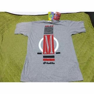 ロット(lotto)の3枚まとめて1万円 未使用品 ACミラン Tシャツ Lotto製(ウェア)