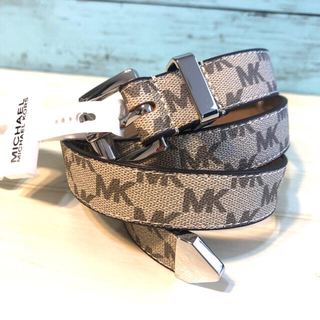 マイケルコース(Michael Kors)の誕生日 人気 ブランド マイケルコース MK ロゴ モノグラム ベルト バックル(ベルト)
