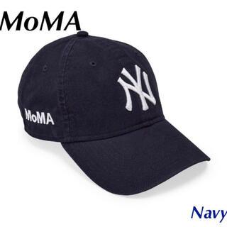 MOMA - 【新品・未使用】NY ヤンキースキャップ ネイビー MoMA Edition