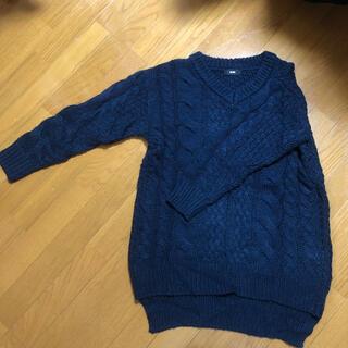 ロデオクラウンズ(RODEO CROWNS)のVネックセーター(ニット/セーター)
