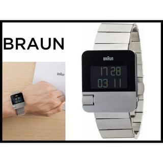 ブラウン(BRAUN)の新品 ブラウン BN0106SLBTG イージースクロール デジタル 腕時計(腕時計(デジタル))