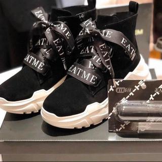 イートミー(EATME)の最終値下げEATME スニーカーソールショートブーツ(ブーツ)