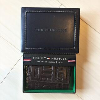 トミーヒルフィガー(TOMMY HILFIGER)の【新品】トミーヒルフィガー キーケース 6連キーケース レザー(キーケース)