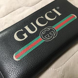 Gucci - GUCCI 長財布 黒 ブラック