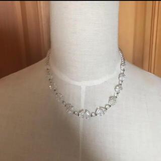 《未使用品》水晶 ネックレス(ネックレス)