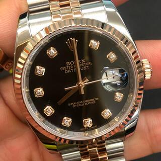 ロレックス(ROLEX)の新品同様!ロレックス 116231G ピンクゴールド腕時計(腕時計(アナログ))