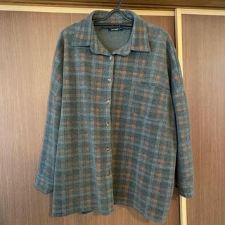 ホッピン(HOTPING)のhotping チェックシャツ オーバーサイズ(シャツ/ブラウス(長袖/七分))