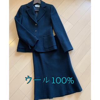 クミキョク(kumikyoku(組曲))のウール100%  スカートスーツ(スーツ)