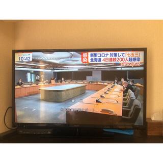 アクオス(AQUOS)の東京荻窪 直接引取のみ AQUOS シャープ 2015年製 40インチ 最終値下(テレビ)