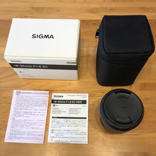 SIGMA - SIGMA 18-35 F1.8DC HSM/C キャノンEFマウント