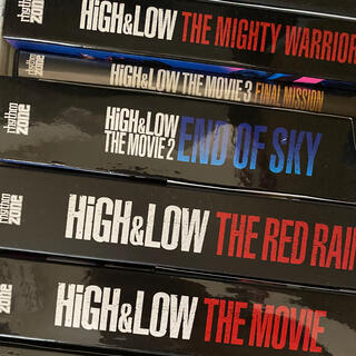 HIGH & LOW DVD