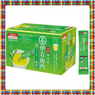 サントリー(サントリー)の 伊右衛門 抹茶入りインスタント緑茶 120本(茶)