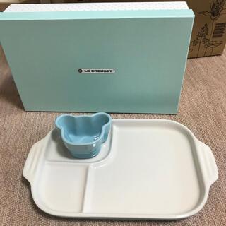 ルクルーゼ(LE CREUSET)のル・クルーゼ ベビー食器 未使用(離乳食器セット)