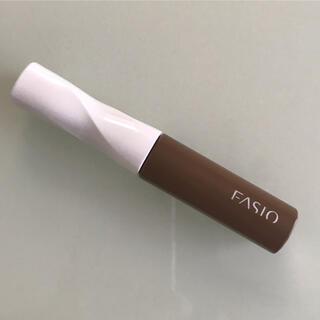 ファシオ(Fasio)のファシオ カラーラスティング アイブロウ マスカラ ブラウン BR303(眉マスカラ)