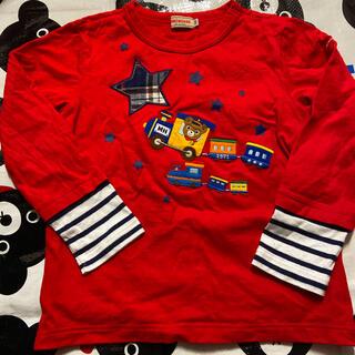 ミキハウス(mikihouse)の120♡ロンT♡ミキハウス♡プッチー♡(Tシャツ/カットソー)