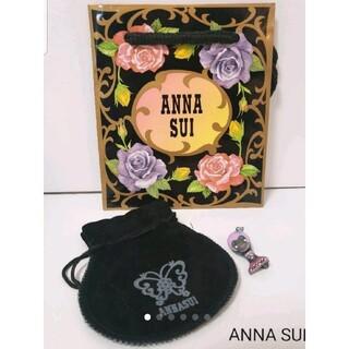 アナスイ(ANNA SUI)のアナスイ ANNA SUI ドーリーガール ピンバッチ ブローチ 巾着つき(ブローチ/コサージュ)