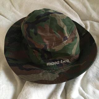 モンベル(mont bell)のモンベル カモ柄帽子M(キャップ)