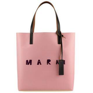 マルニ(Marni)のMARNI マルニ バイカラー ショッピングバッグ(ハンドバッグ)