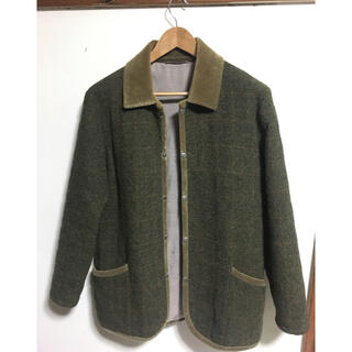 Harris Tweed - Harris Tweed ブルゾン コート