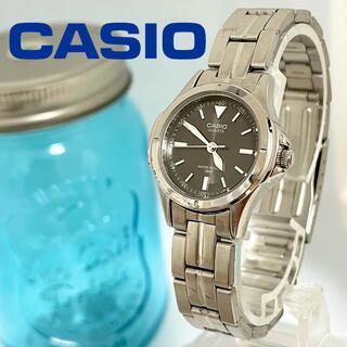カシオ(CASIO)の63 カシオ時計 レディース腕時計 新品電池 ダークブラウン(腕時計)