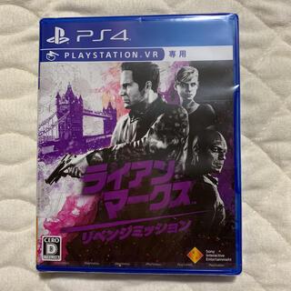 プレイステーション4(PlayStation4)の【新品】ライアン・マークス リベンジミッション(家庭用ゲームソフト)