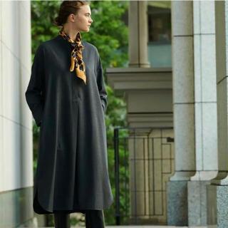 セオリーリュクス(Theory luxe)のtheory luxe 20AW SAXONY シャツドレス ワンピース(ロングワンピース/マキシワンピース)