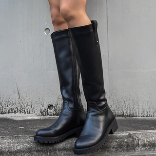 アリシアスタン(ALEXIA STAM)のaclent ラグソールロングブーツ(ブーツ)