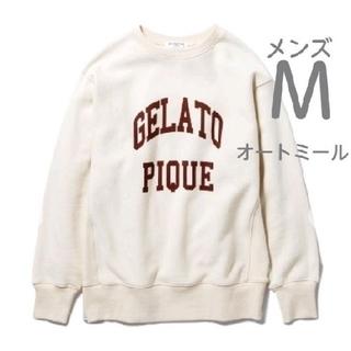 ジェラートピケ(gelato pique)のジェラートピケ ロゴスウェット オートミール(スウェット)