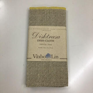 フォグリネンワーク(fog linen work)の新品 Vaxbo Lin / ヴェクスボリン リネン100% ディッシュクロス(収納/キッチン雑貨)