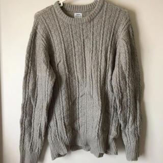 コーエン(coen)のcoen セーター グレー Sサイズ(ニット/セーター)