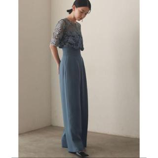 ラグナムーン(LagunaMoon)のオーバーレースワイドパンツドレス(その他ドレス)