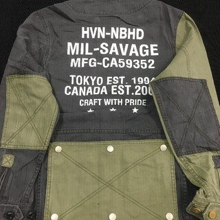 ネイバーフッド(NEIGHBORHOOD)のNEIGHBORHOOD x HAVEN M-65 C-JKTジャケット(ミリタリージャケット)