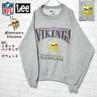 リー(Lee)の《USA製》Lee リー ×  NFL ミネソタ・バイキングス チームスウェット(スウェット)