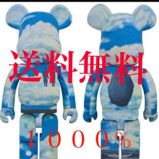 メディコムトイ(MEDICOM TOY)のBE@RBRICK René Magritte 1000% 2G大阪(その他)