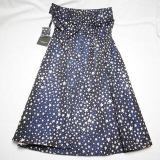 ダブルスタンダードクロージング(DOUBLE STANDARD CLOTHING)のDOUBLE STANDARD CLOTHING 星柄ワンピース(ひざ丈ワンピース)