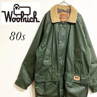 WOOLRICH - ウールリッチ 80s オイルドコート オイルドジャケット