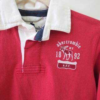 アバクロンビーアンドフィッチ(Abercrombie&Fitch)のUSA購入 お洒落 新品アバクロラガーシャツ ボーイズМサイズ(その他)