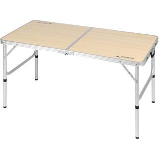キャプテンスタッグ(CAPTAIN STAG)のキャプテンスタッグ ジャストサイズ ラウンジチェアで食事がしやすいテーブル (テーブル/チェア)