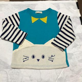 ナルミヤ インターナショナル(NARUMIYA INTERNATIONAL)のベイビーチアー ロンT 100(Tシャツ/カットソー)