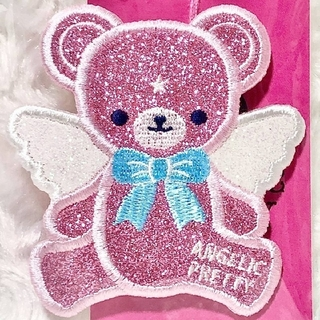 アンジェリックプリティー(Angelic Pretty)の【新品】Angelic Pretty♡Milkyベアークリップ(ピンク)(バレッタ/ヘアクリップ)