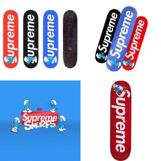シュプリーム(Supreme)の新品 ステッカー付 supreme smurf シュプリーム スケボー(スケートボード)