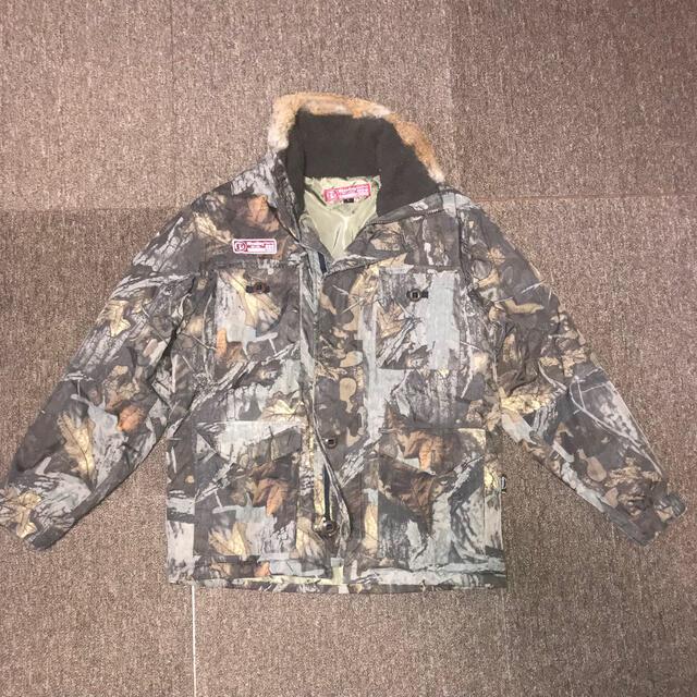 リバレイ フィッシングジャケット防寒スーツ迷彩/ベージュ スポーツ/アウトドアのフィッシング(ウエア)の商品写真