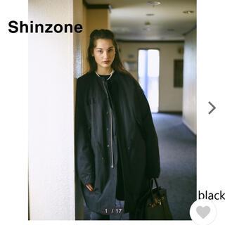 シンゾーン(Shinzone)の【おもちママ様】シンゾーン フィールドパーカー ブラック(ミリタリージャケット)