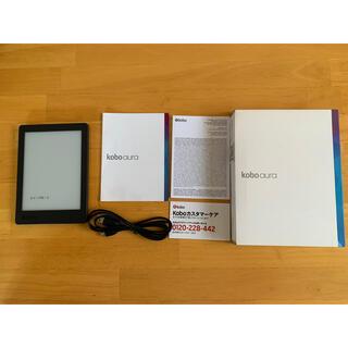 ラクテン(Rakuten)のロッタ様専用 Rakuten kobo aura Edition2 4GB(電子ブックリーダー)