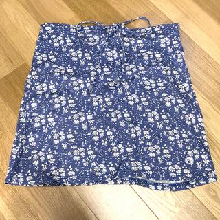 フレッドペリー(FRED PERRY)のスカート フレッドペリー サイズs  花柄(ひざ丈スカート)
