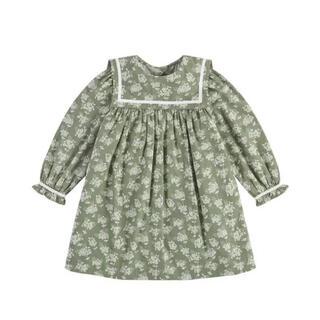 こどもビームス - 【新品】little cotton clothes アジサイ セーラーワンピース