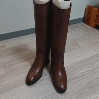 リーガル(REGAL)の新品☆REGAL☆リーガル本革濃茶 ロングブーツ(ブーツ)